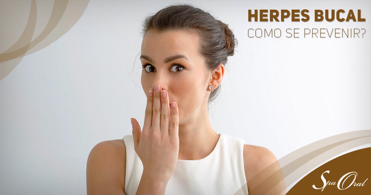 Como se prevenir contra a herpes bucal   Spa Oral